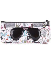 Harrods | Doodle London Sunglasses Case, White | Lyst