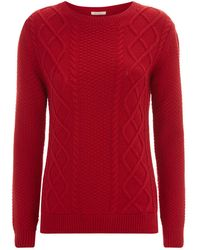Barbour - Leith Crew Neck Jumper - Lyst