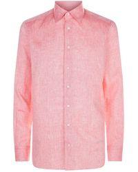 Zilli - Linen Lightweight Shirt - Lyst
