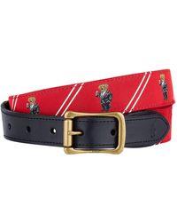 Polo Ralph Lauren - Polo Bear Motif Belt - Lyst