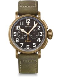 a6c3f2ea843 Zenith - Pilot Type 20 Chronograph Extra Special Automatic Watch 45mm - Lyst
