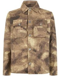 Blood Brother - Camouflage Over Shirt - Lyst