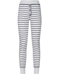 Sundry - Stripe Print Legging - Lyst