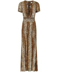Melissa Odabash - Lou Cheetah Maxi Dress - Lyst