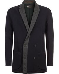 Kolor - Oversized Colour Block Blazer - Lyst