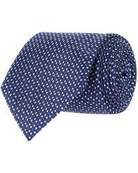 Canali - Dot Print Tie - Lyst