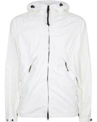C P Company - Tricot Bonded Goggle Jacket - Lyst