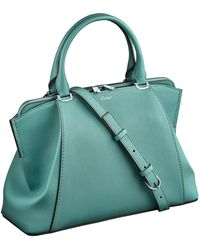 Cartier - Small Leather C De Tote Bag - Lyst