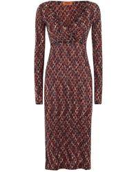 Missoni - Wave Midi Dress - Lyst