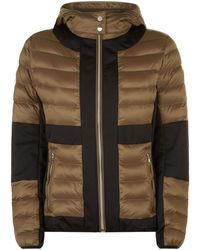 Armani - Quilted Panel Jacket - Lyst