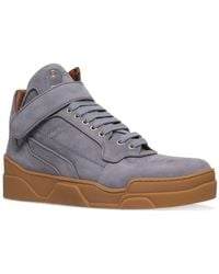 Givenchy - Tyson Nubuck Mid-top Trainers - Lyst