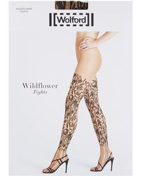 Wolford - Mystic Amber Tights - Lyst