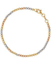 Carolina Bucci - Trio Gold Disco Ball Bracelet - Lyst