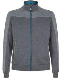 BOSS Green - Zip Up Sweatshirt - Lyst