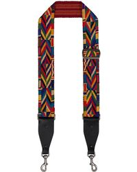 Valentino - Embroidered Guitar Strap - Lyst