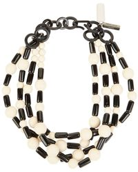 Weekend by Maxmara - Chunky Beaded Necklace - Lyst