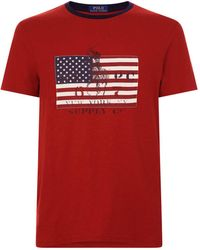 Polo Ralph Lauren - Flag T-shirt - Lyst