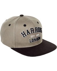 Harrods - Varsity Logo Flat Peak Cap - Lyst