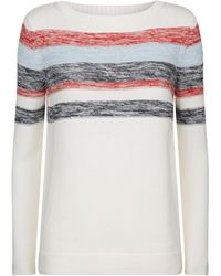 Barbour - Skysail Striped Jumper - Lyst