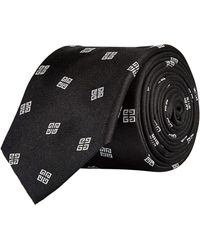 Givenchy - 4g Logo Tie - Lyst