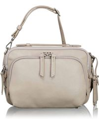 Tumi - Luana Leather Flight Bag - Lyst