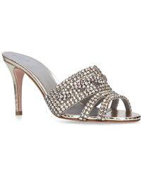 Gina - Embellished Jarrah Mules 85 - Lyst