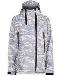 Armani - Camouflage Ski Jacket - Lyst
