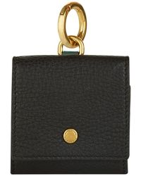 Burberry - Mini Leather Coin Pouch - Lyst