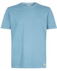 7 For All Mankind - Cotton Slub T-shirt - Lyst