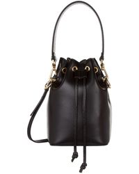 Fendi - Mini Mon Tresor Leather Bucket Bag - Lyst