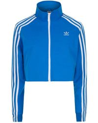 adidas Originals - Cropped Track Jacket - Lyst