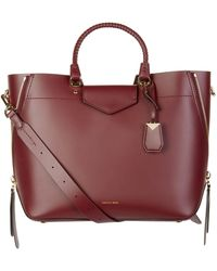 MICHAEL Michael Kors - Blakely Leather Tote Bag - Lyst