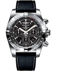 Breitling - Stainless Steel Chronomat 44 Chronograph Watch 44mm - Lyst