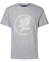 Stefano Ricci - Embroidered Eagle T-shirt - Lyst