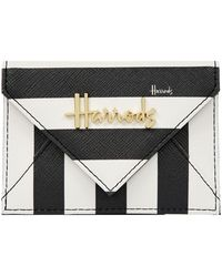 Harrods - Boutique Multi Stripe Card Holder - Lyst
