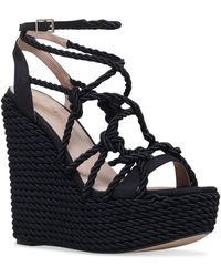 Kurt Geiger - Notty Wedge Sandals - Lyst