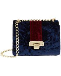 Harrods - Pershore Velvet Bag - Lyst