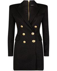 Balmain - Double-breasted Jacket Dress - Lyst
