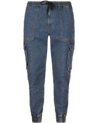 Juun.J - Denim Cargo Trousers - Lyst