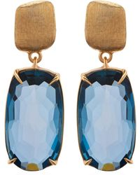 Marco Bicego - Murano Topaz Drop Earrings - Lyst