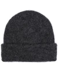 Sandro - Mohair And Wool Beanie - Lyst