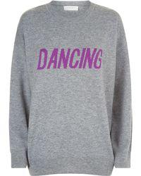 Sandro - Wool Dancing Sweater - Lyst