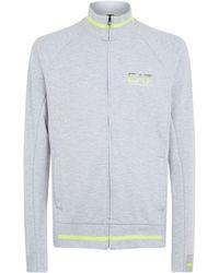 Armani - Zipped Sweatshirt - Lyst
