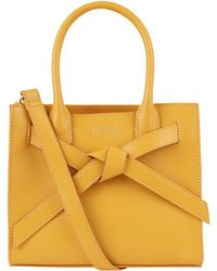 Harrods | Beaumont Grab Bag, Yellow | Lyst