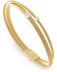 Marco Bicego - Masai Double Strand Diamond Bracelet - Lyst