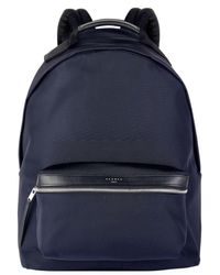 Sandro - Leather Trimmed Backpack - Lyst