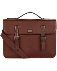 Ted Baker   Leather Satchel, Brown   Lyst