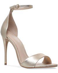 Carvela Kurt Geiger - Ankle-strap Glimmer Sandals - Lyst