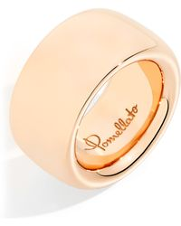 Pomellato - Wide Rose Gold Iconica Ring - Lyst