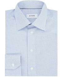 Eton of Sweden - Slim Fit Geometric Shirt - Lyst